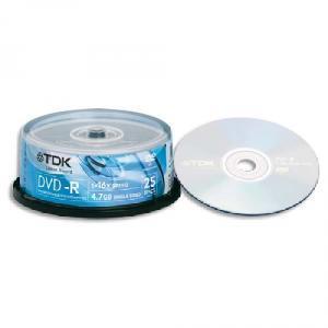 BOITE DE 100 DVD+R TDK