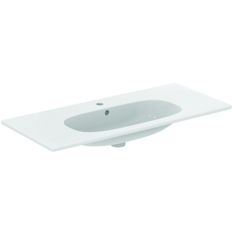 Ideal Standard Lavabo Tesi.Ideal Standard Tesi Lavabo Plan 102 5 X 45 Cm Blanc T350801
