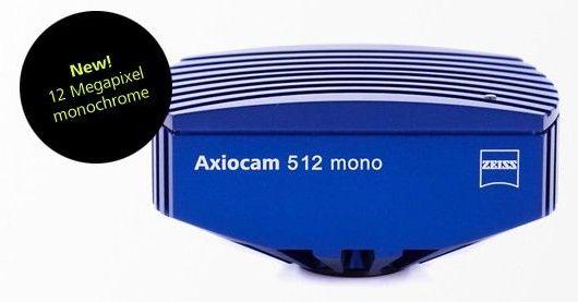 Zeiss axiocam 512 mono - caméra de microscope - carl zeiss - résolution : 12 mégapixels