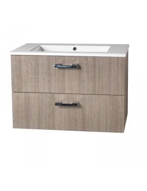 Mobiliers de salle de bain comparez les prix pour for Meuble de salle de bain avec tiroir
