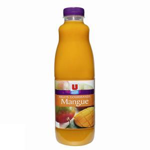 U nectar fruits gourmands à la mangue pet 1 litre