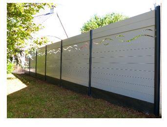 Clôture aluminium oasis 125