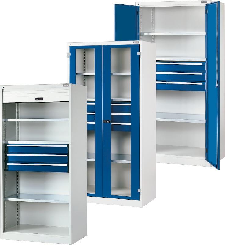 Armoire combinable avec portes battantes en tole pleine de for Les portes logiques de base