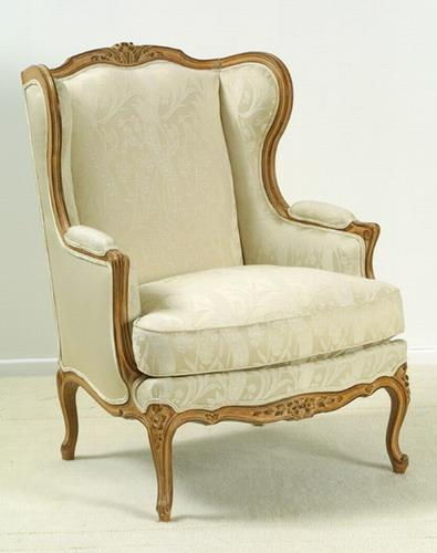 bergere a oreilles style louis xv ref. Black Bedroom Furniture Sets. Home Design Ideas