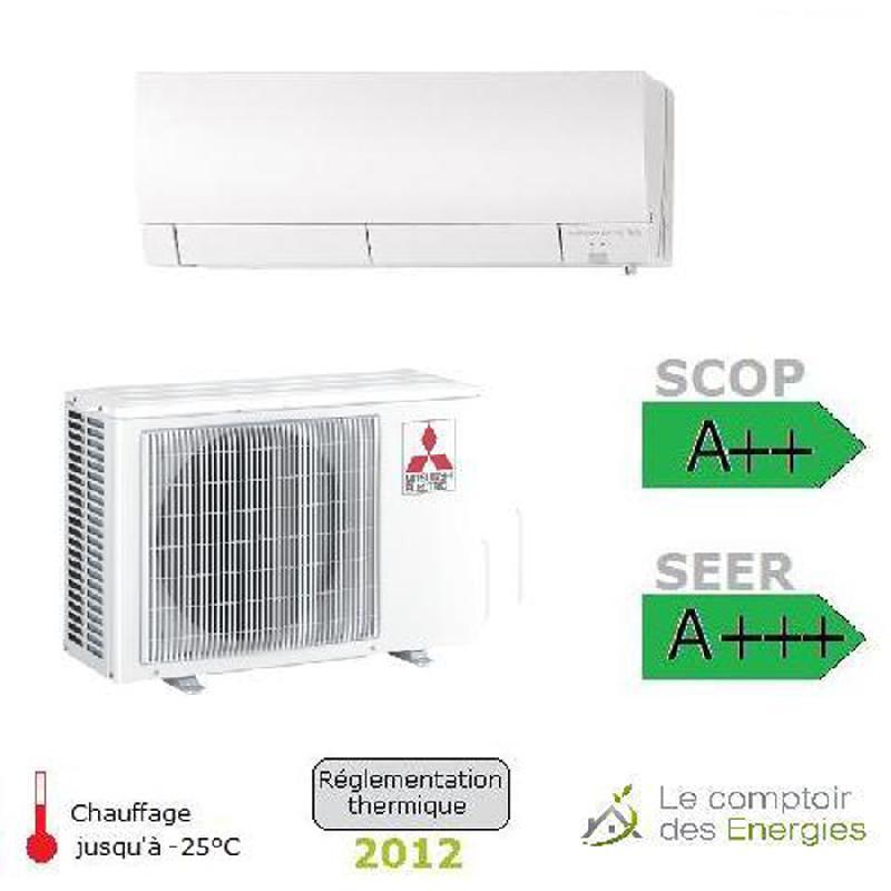 climatiseur monosplit mitsubishi msz fh 6 kw comparer les prix de climatiseur monosplit. Black Bedroom Furniture Sets. Home Design Ideas