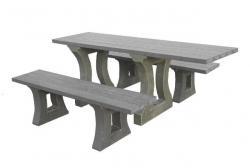 Tables publiques en plastique tous les fournisseurs table urbaine plastique table ville - Table pour fauteuil roulant ...