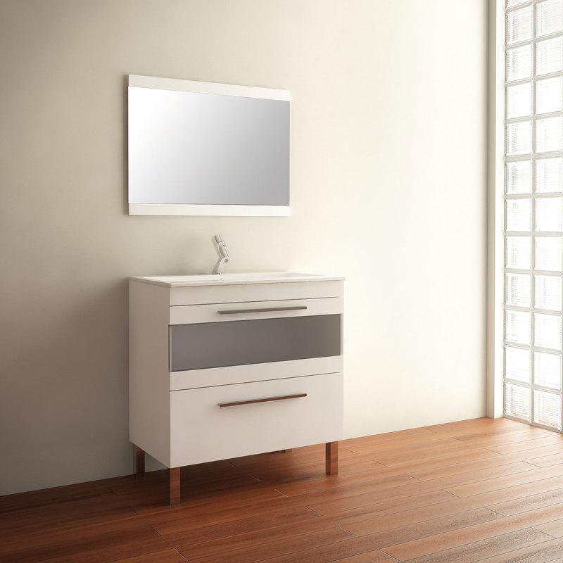 Mobiliers de salle de bain mennza achat vente de for Ensemble meuble salle de bain 80 cm
