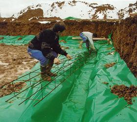 Isolations thermiques de sols tous les fournisseurs isolant thermique sol isolement - Film polyane sous dalle ...