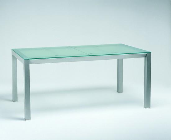 table verre sable
