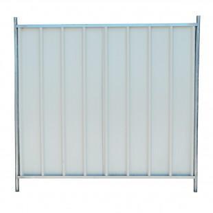 barrieres de chantier mobile opaque 210 x 200 cm. Black Bedroom Furniture Sets. Home Design Ideas