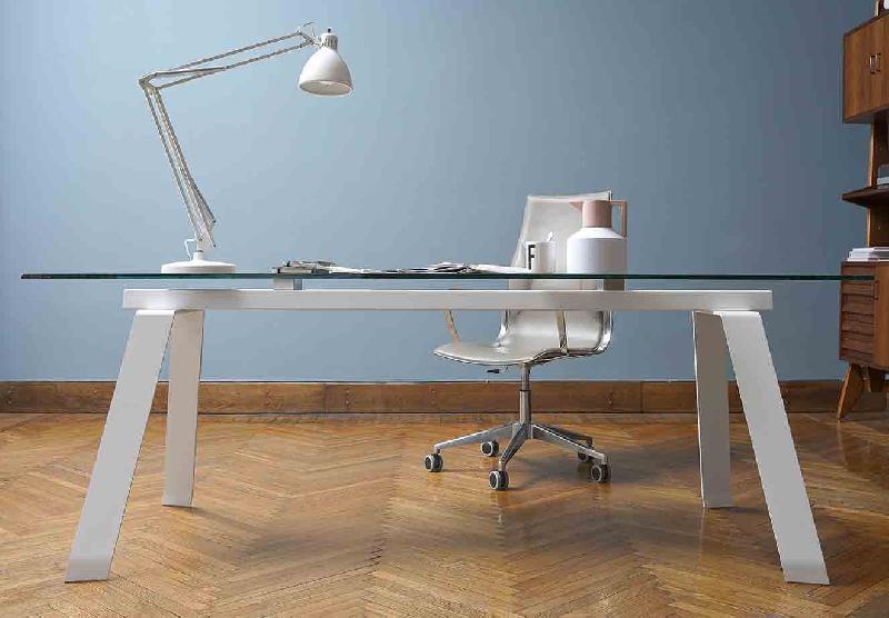 Bureau angle verre frais bureau d angle design master en verre