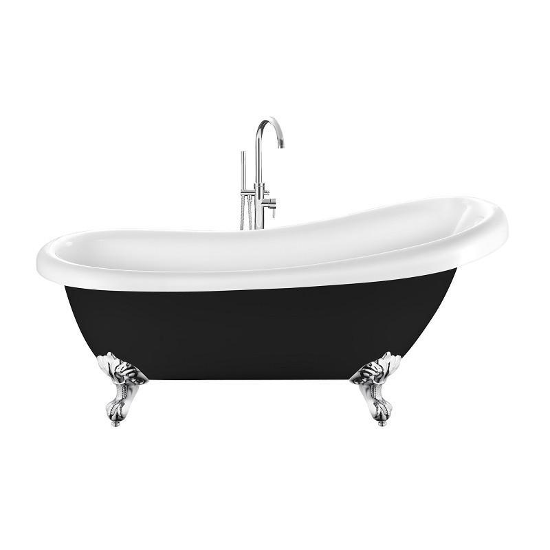 baignoire ancienne richmond noire 171 cm comparer les prix. Black Bedroom Furniture Sets. Home Design Ideas