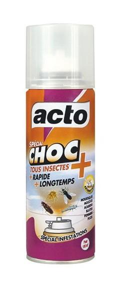 ACTO CHOC AEROSOL 150M3 (VENDU PAR 1) - COMPAGNIE GENERALE INSECTICIDE