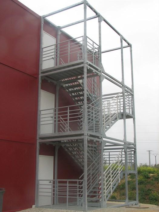 escalier exterieur 3m