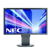 Nec 'multisync e223w' ecran plat lcd 22', résolution 1680x1050, lumino