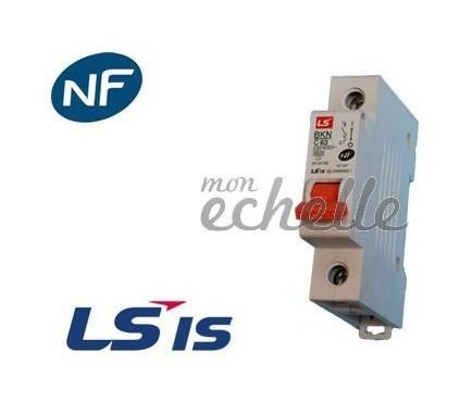Disjoncteur modulaire unipolaire bkn 10a ls industrial - Remplacer porte fusible par disjoncteur ...