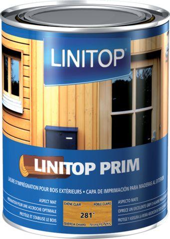 LASURE D'IMPRÉGNATION LINITOP PRIM & FINISH DURIEU - CHÊNE CLAIR - BIDON DE 5L - L095
