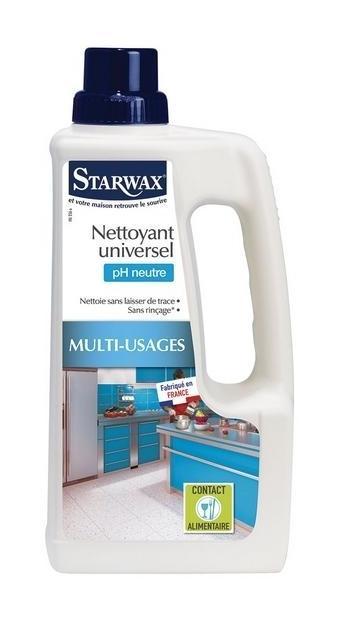 NETTOYANT UNIVERSEL PH NEUTRE MULTI USAGES STARWAX -ST5162