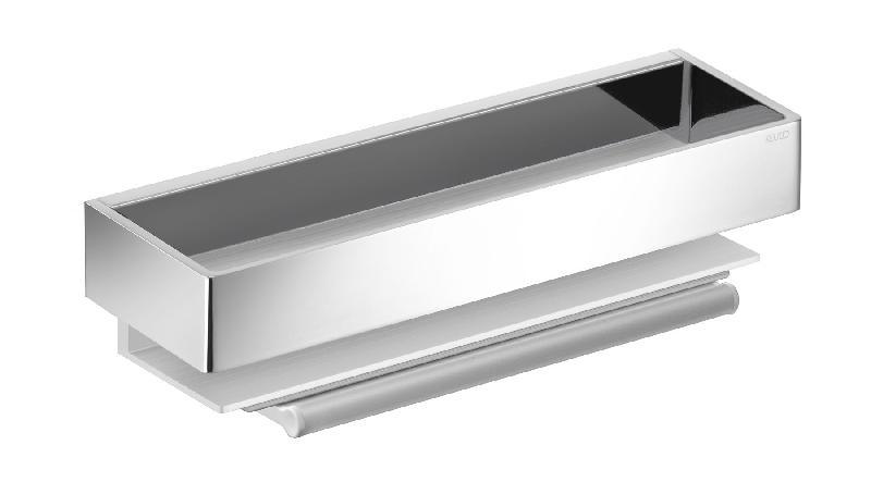 porte ponge edition 11 avec raclette int gr e aluminium argent anodis chrom comparer les. Black Bedroom Furniture Sets. Home Design Ideas