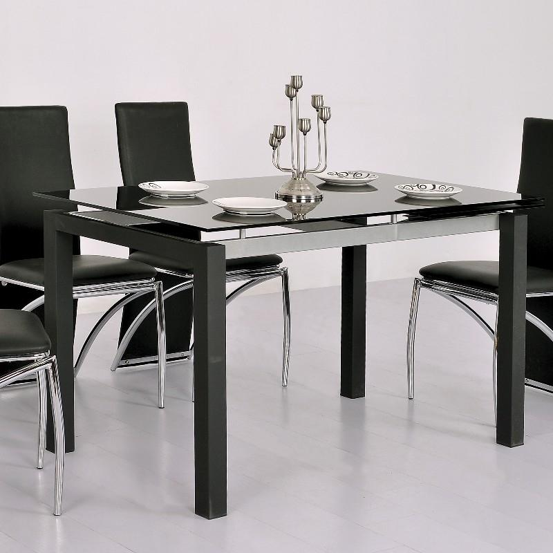 Tables de salon comparez les prix pour professionnels for Table en verre extensible