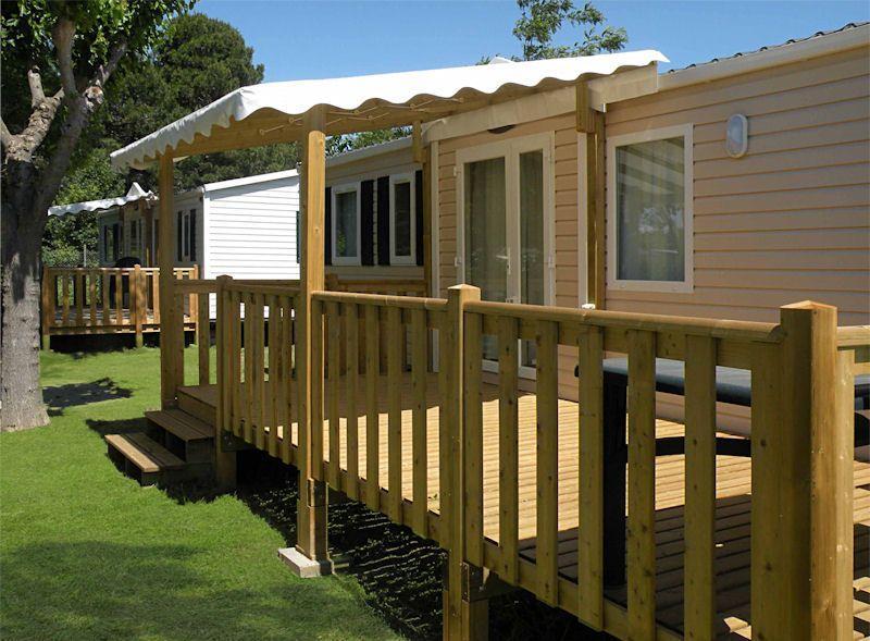 terrasse mobil home 1 2 couverte 6 00 x 3 00. Black Bedroom Furniture Sets. Home Design Ideas