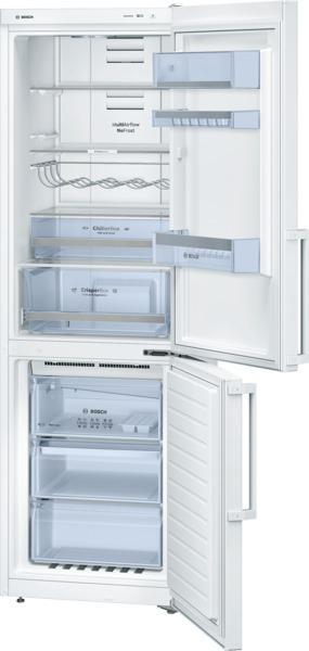 bosch refrigerateur combine confort kgn36xw31 kgn36xw31. Black Bedroom Furniture Sets. Home Design Ideas