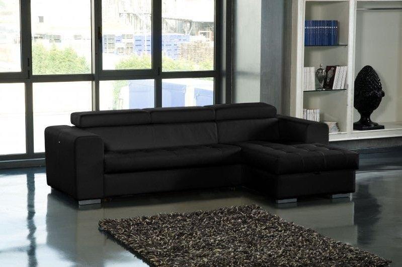 canap d 39 angle droit samuel convertible lit gigogne en. Black Bedroom Furniture Sets. Home Design Ideas