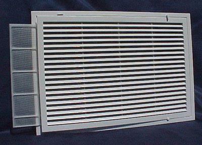 Grilles de ventilation de reprise tous les fournisseurs for Porte avec grille de ventilation
