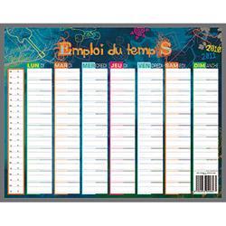 Grille emploi du temps hebdomadaire search results calendar 2015 - Grille remuneration contrat pro ...
