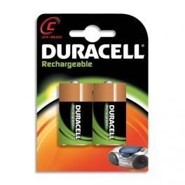 DURACELL BLISTER DE 2 ACCU RECHARGEABLES C/HR14 1,2VOLT +CCR