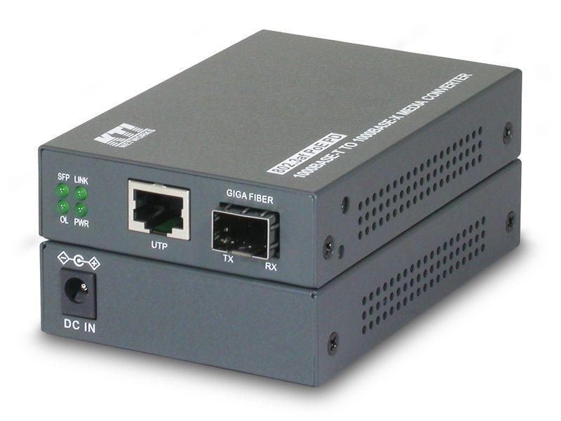 Kgc-352 - convertisseur de média gigabit ethernet