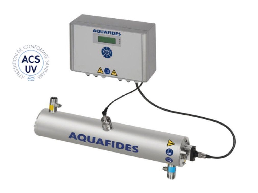 Réacteur uv katadyn aquafides 1af45t certifié acs uv