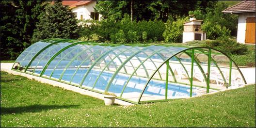 Abris de piscines tous les fournisseurs abri de for Abri piscine eureka
