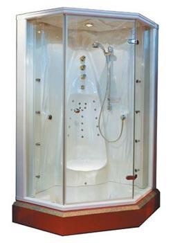 Cabines de douches tous les fournisseurs cabine de douche multifonction - Douche sans silicone ...