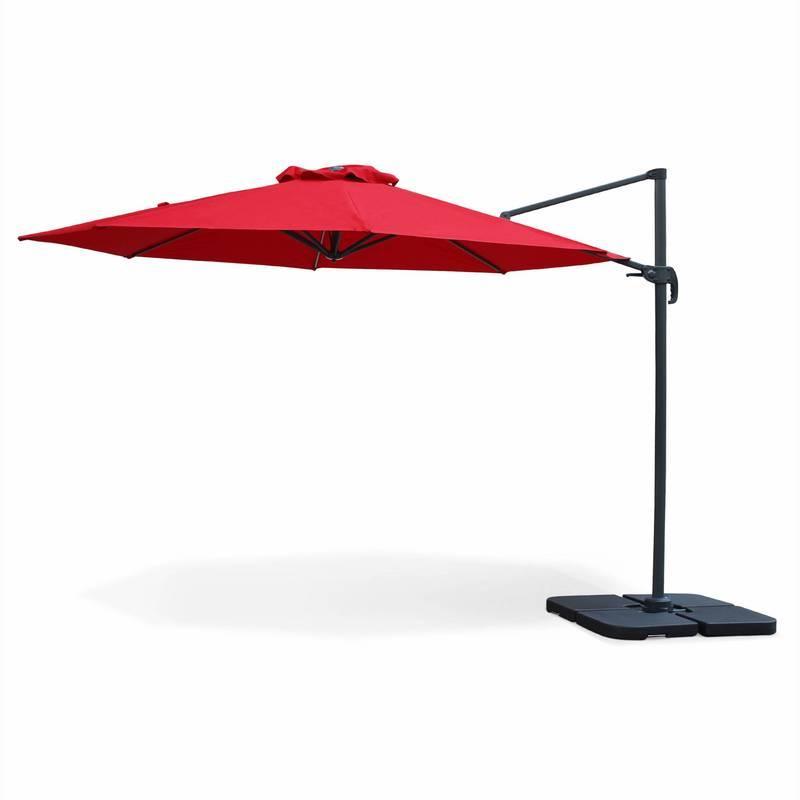 Parasol rouge tous les fournisseurs de parasol rouge - Parasol deporte rouge ...