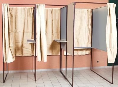 Isoloir electoral standard de