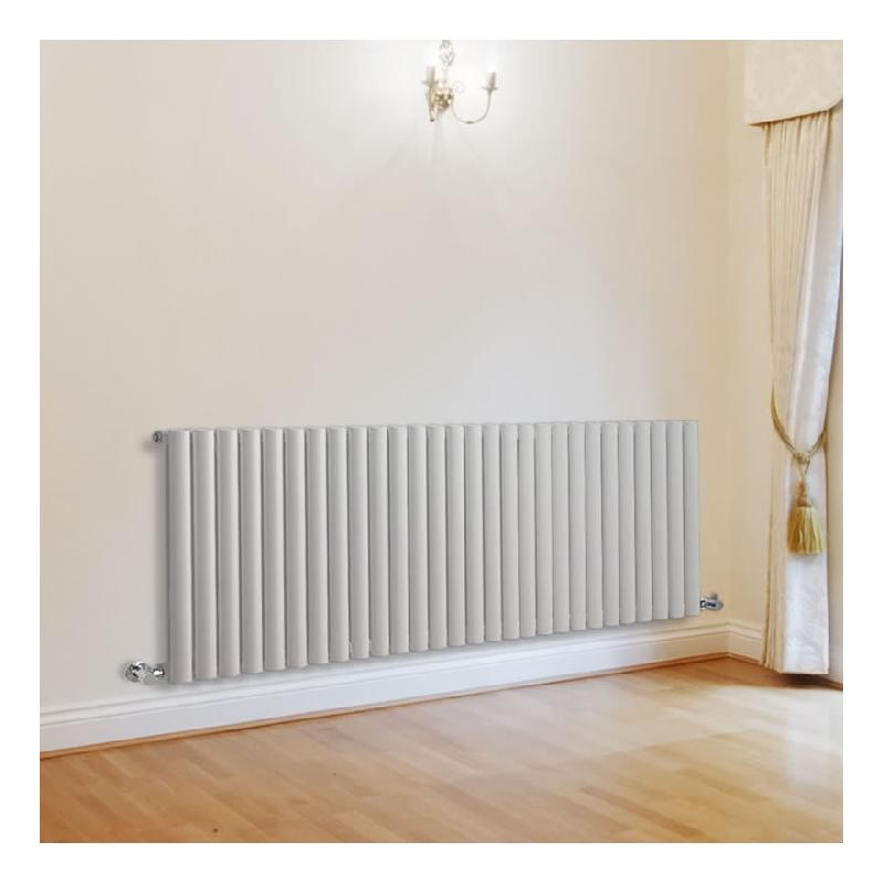 radiateur design horizontal blanc vitality 63 5cm x 164 7cm x 3cm 1671 watts hudson reed. Black Bedroom Furniture Sets. Home Design Ideas
