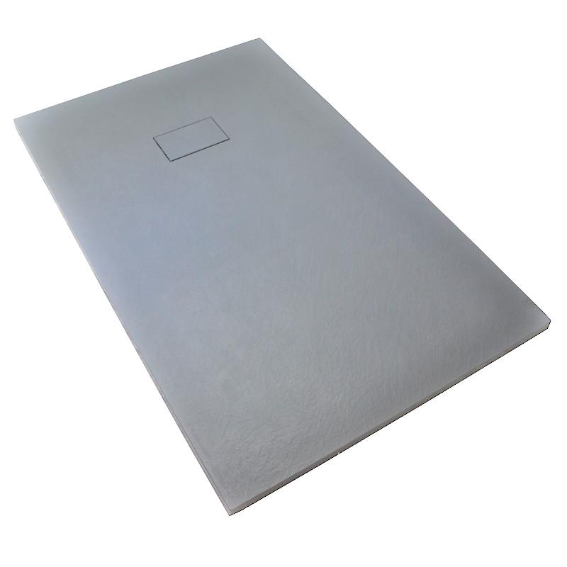 receveur de douche 90 x 100 cm extra plat piatto en solicast surface ardois e largeur 90cm. Black Bedroom Furniture Sets. Home Design Ideas