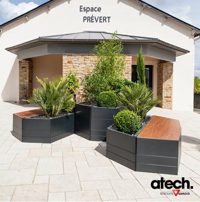 Bien-aimé Atech - produits bacs a fleurs et jardinieres GZ35