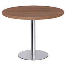 TABLE RONDE MILANO PLATEAU NOYER DIAMÈTRE 100 CM