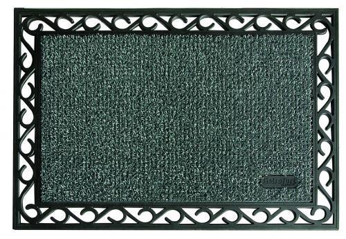 Tapis d 39 entr e gris 60x90cm tapis ext rieur comparer les for Tapis entree exterieur