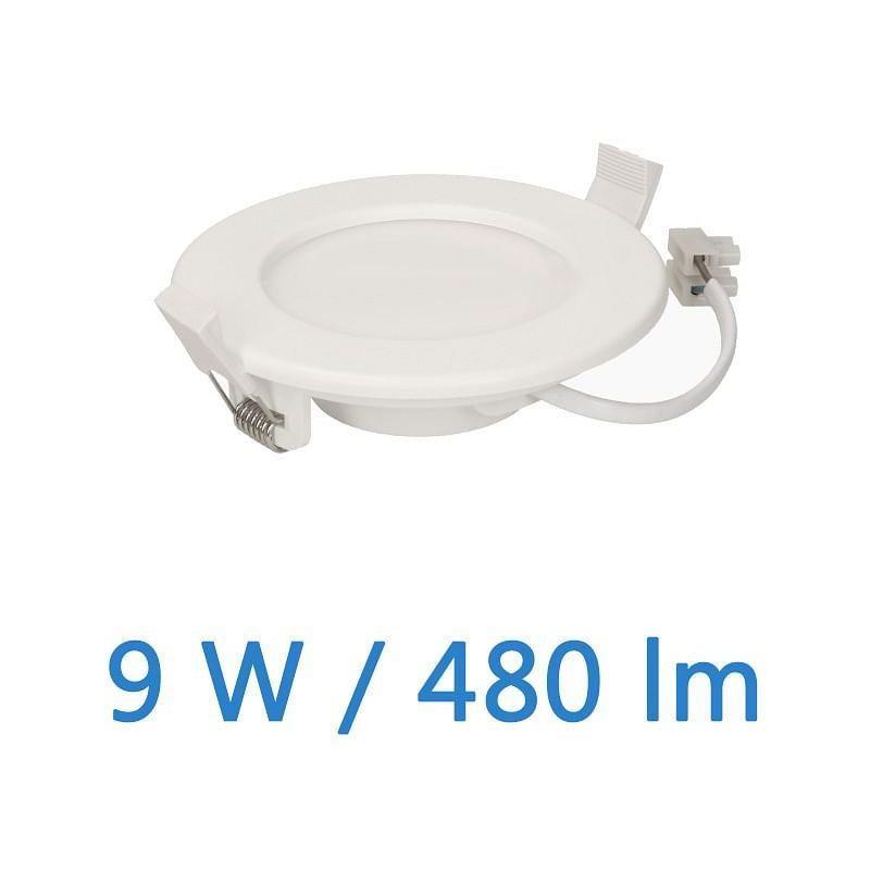 APPLIQUE LED DE PLAFOND EURUS 9 W, 480 LM - ORNO