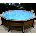 piscine hors sol ovale Geispitzen (Haut-Rhin)