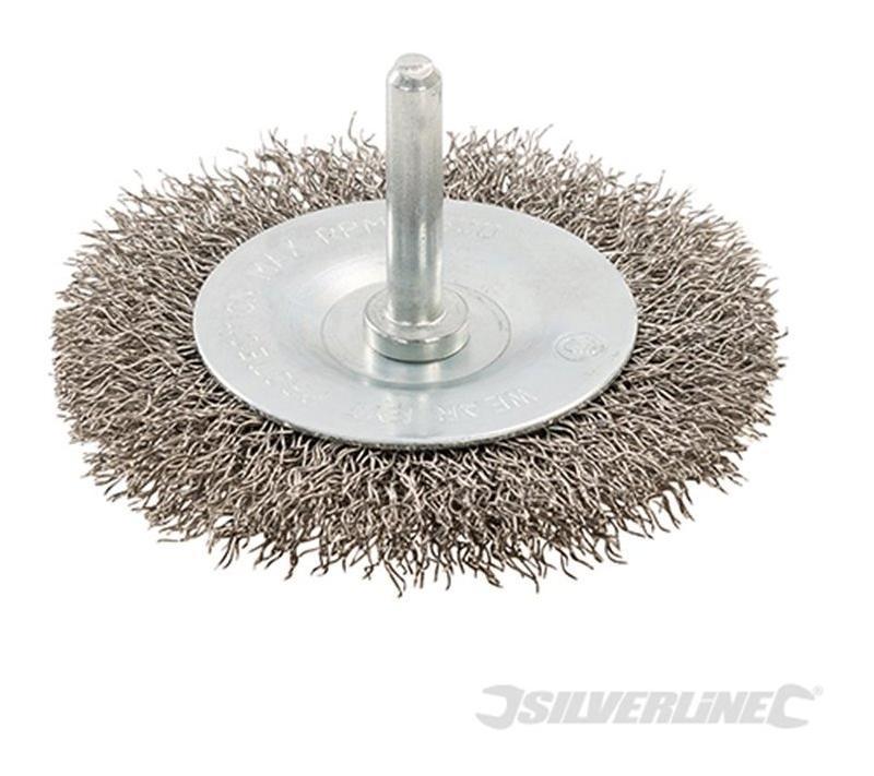 roue fils d 39 acier inox silverline comparer les prix de roue fils d 39 acier inox silverline. Black Bedroom Furniture Sets. Home Design Ideas