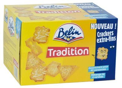 ASSORTIMENT DE CRACKERS BELIN TRADITION 720G