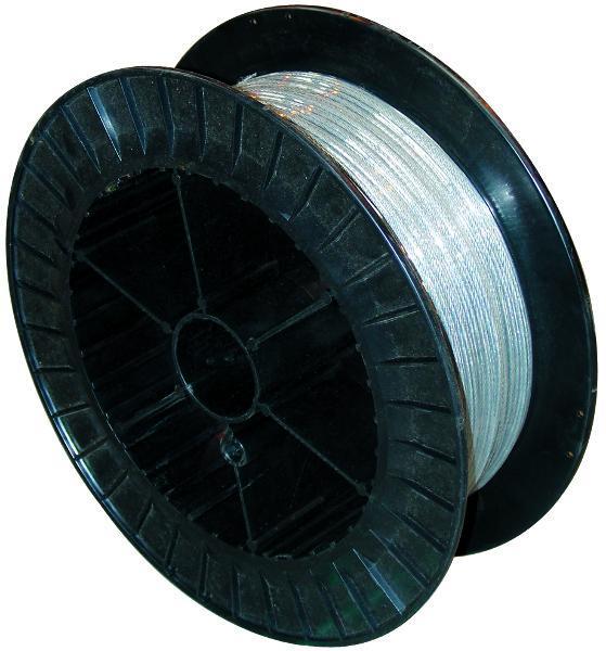 cable acier galva 7x7 diametre 3 1960nmm2 touret 200m comparer les prix de cable acier galva 7x7. Black Bedroom Furniture Sets. Home Design Ideas