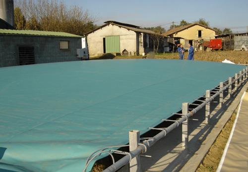 Couverture de bassins tous les fournisseurs couverture for Bache geomembrane