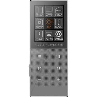 LECTEUR MP3, LECTEUR MP4 MPMAN MPHF2 8 GO GRIS FONCTION EBOOK, RADIO FM, ENREGISTREMENT VOCAL