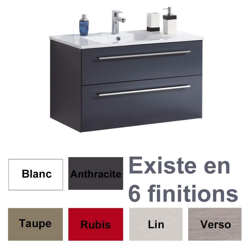 Accessoires de salle de bains comparez les prix pour for Meuble sous vasque salle de bain 60 cm