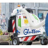 Aspirateur de voirie électrique - glutton - container standard de 240 l